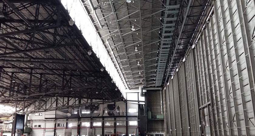 Reforma integral en hangar de GESTAIR