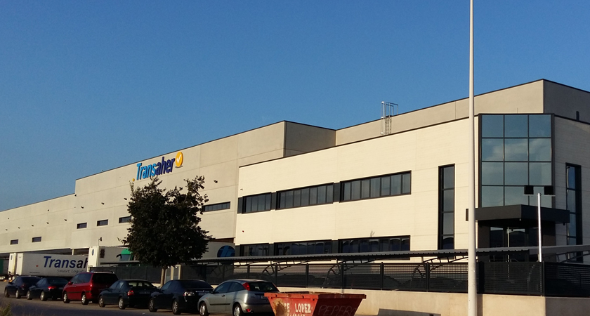 Entrega Plataforma logística a TRANSAHER Smart Logistics