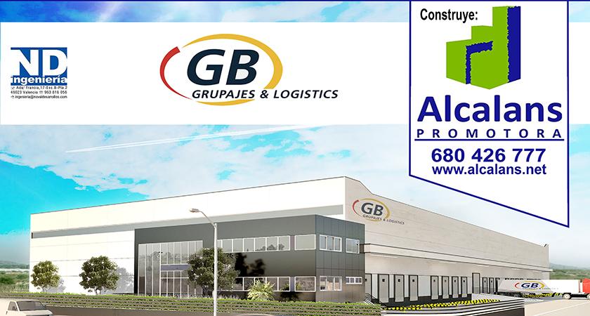 Plataforma logística en Alicante para GB Grupajes