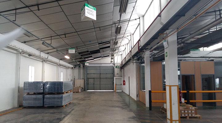 Reforma Nave Emblistadora para Schneider, Meliana, Valencia