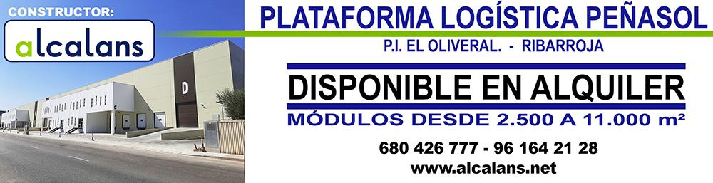 Plataforma Logistica Peñasol - DISPONIBLE