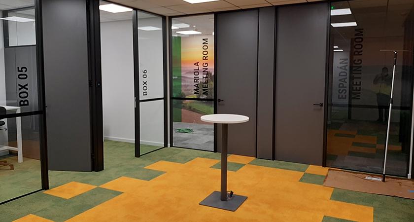 Entrega oficinas Schneider Electric Meliana